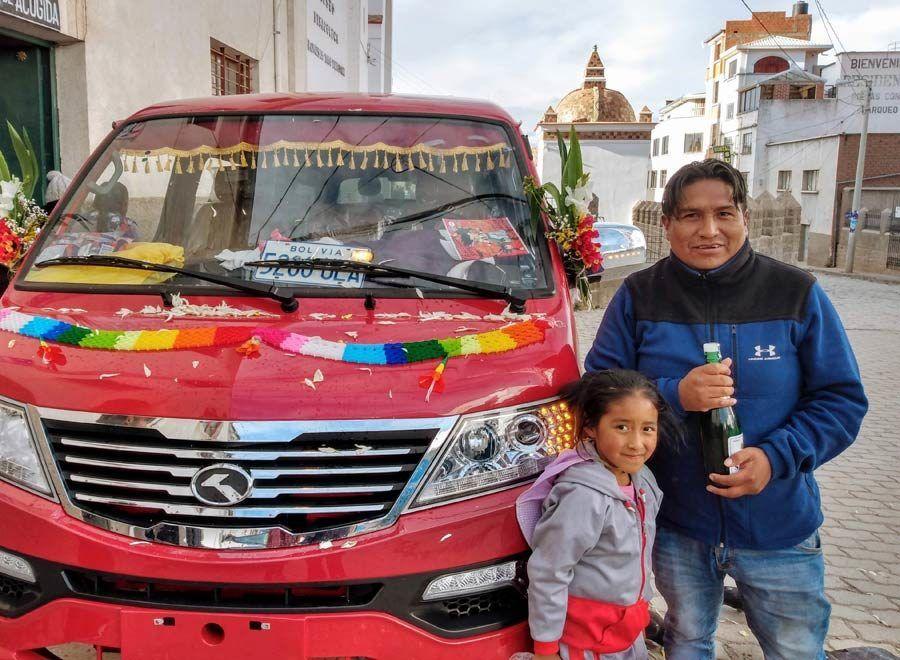 bendecir coches en copacabana