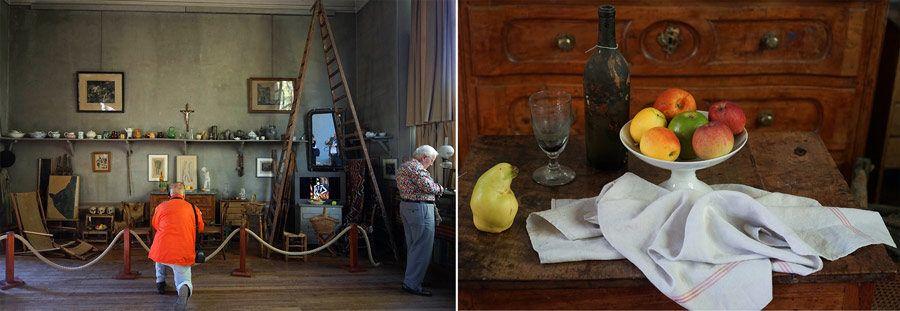 atelier de cezanne, taller de cezanne, aix en provence, escapada francia