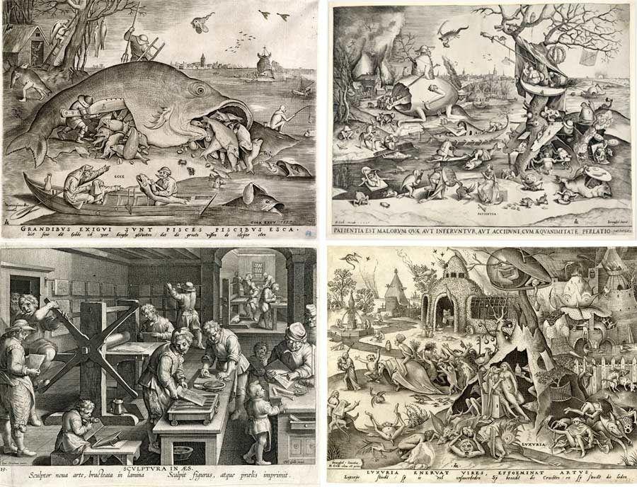 grabados de brueghel, exposicion bruselas