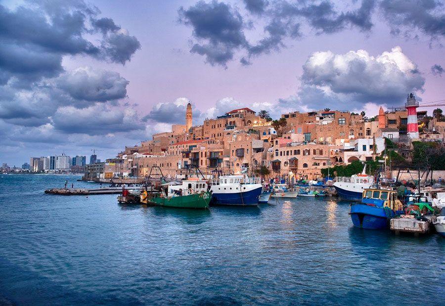 Puerto de Jaffa  escapada con amigas a Israel