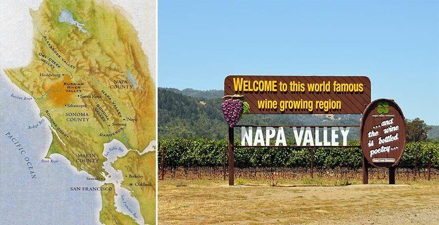mapa napa valley