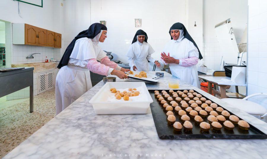 pasteles monjas de osuna