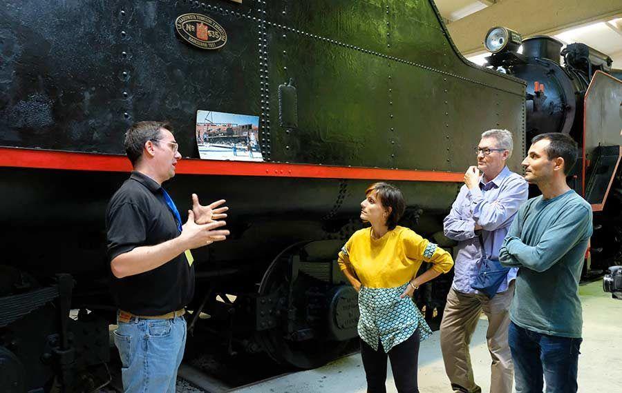 museo del tren mora la nova, turismo industrial, turismo familiar en Cataluna