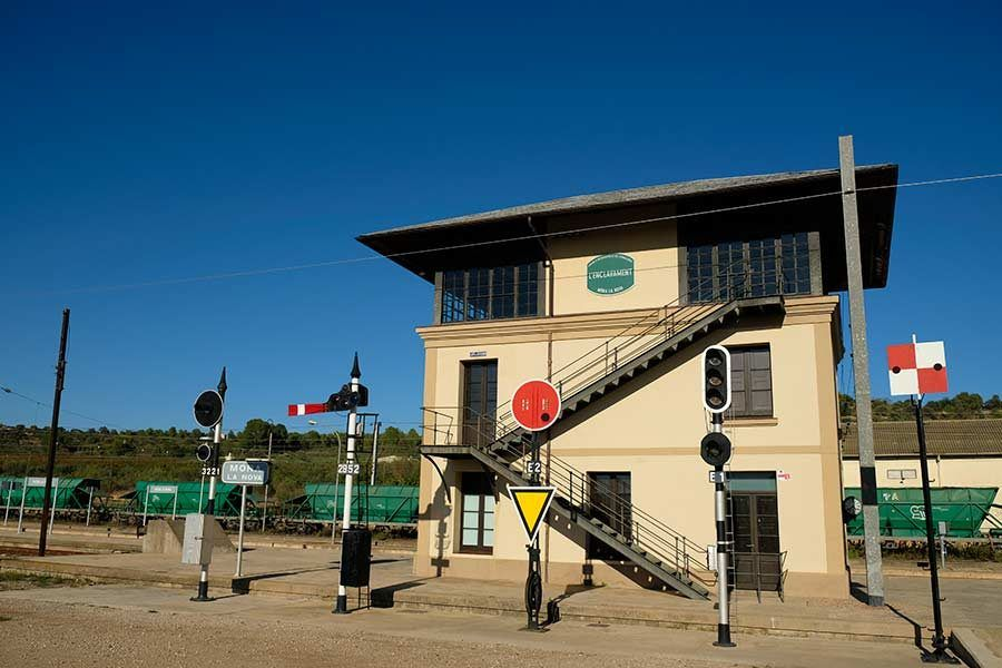 museo ferrocarril cataluna, turismo industrial, turismo familiar en Cataluna