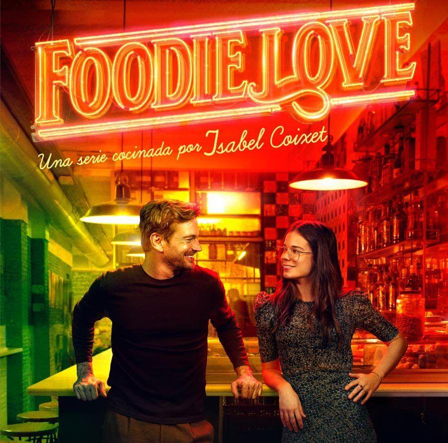 Cartel de Foodie Love, viajes de series, viajes frikis