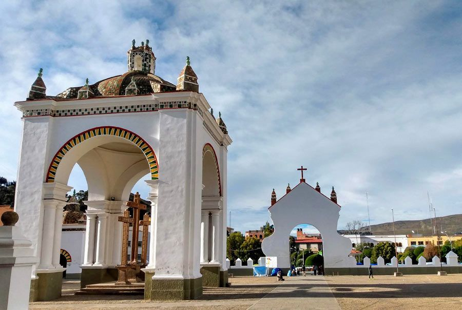 basilica virgen de copacabana, lago titicaca
