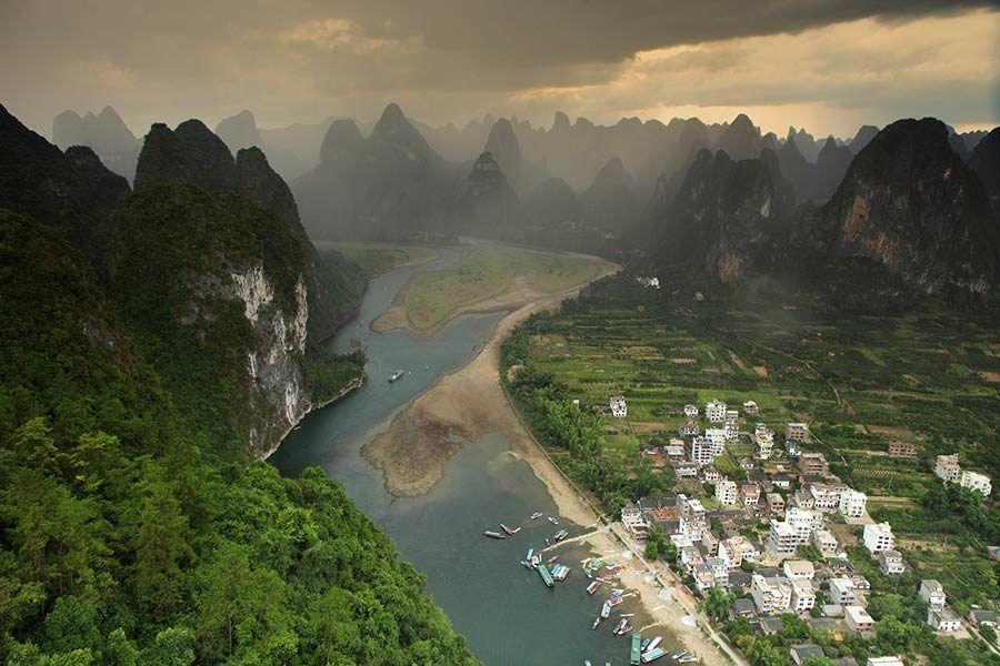 Xingping, paisaje del rio li, viaje china, viaje guangxi