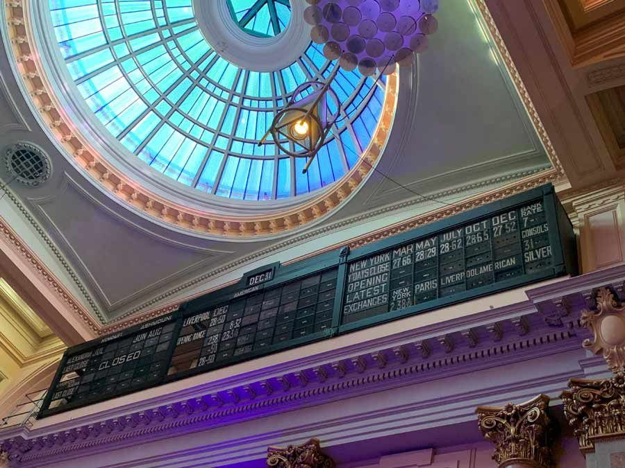 Royal Exchange, viaje mujeres manchester