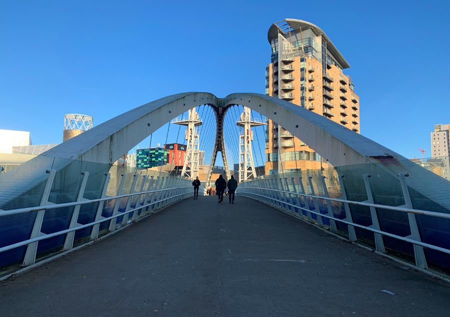 the quays, viaje mujeres manchester