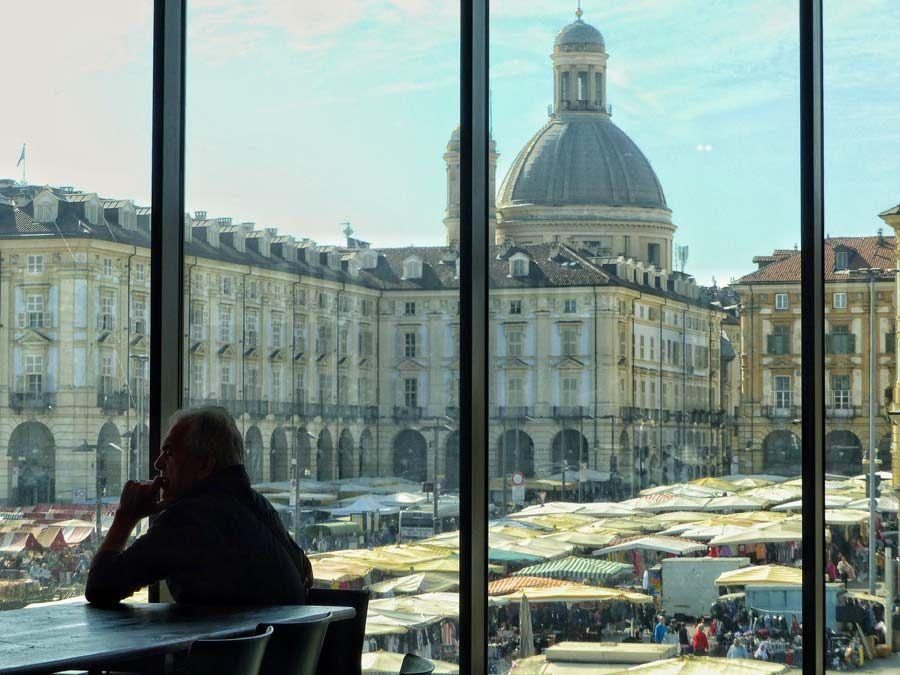 mercado de porta palazzo, compras en turin
