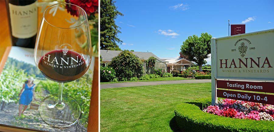Hanna Winery, ruta vinos california