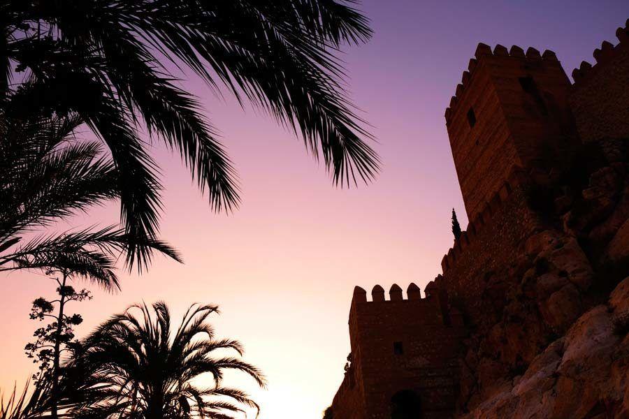 alcazaba almeria, turismo almeria
