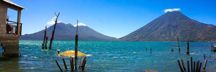 volcanes de lago atitlan