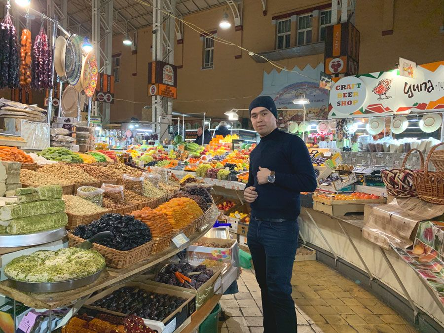 Mercado de Besarabsky en kiev