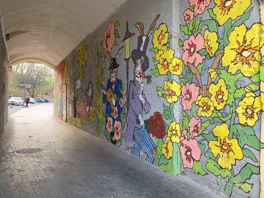 grafitis en kiev