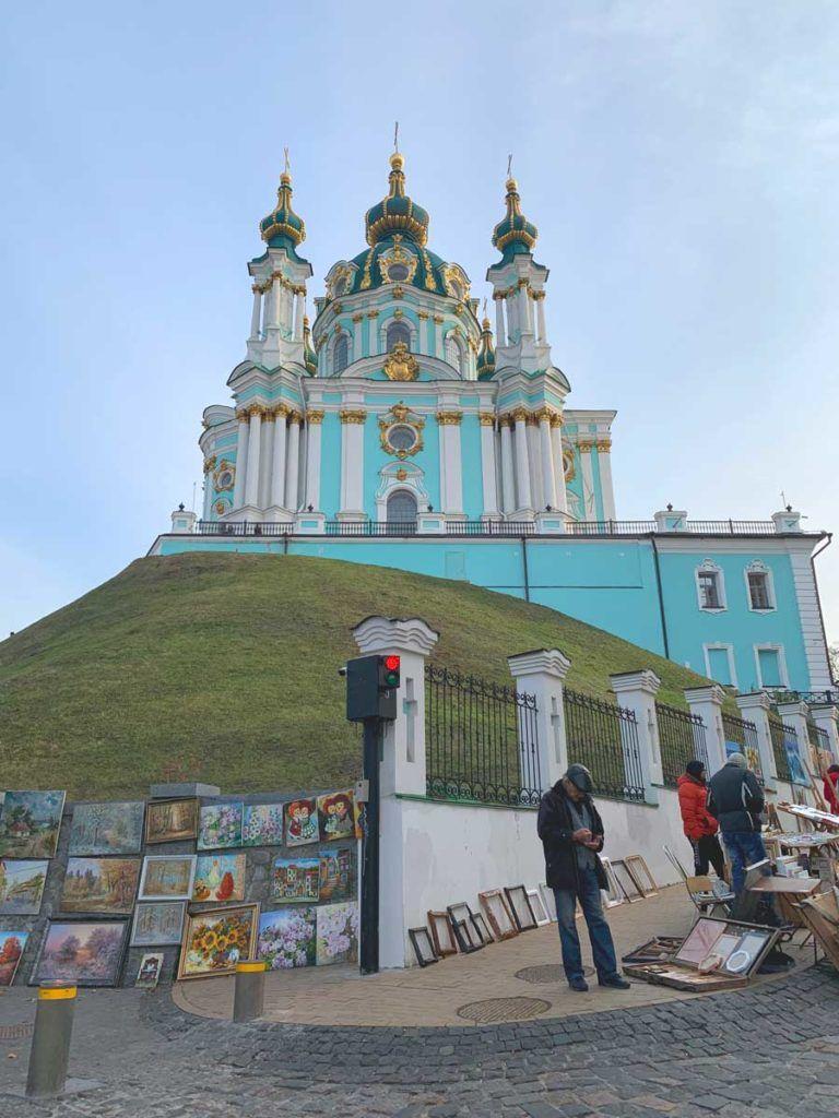 Catedral de San Andres kiev