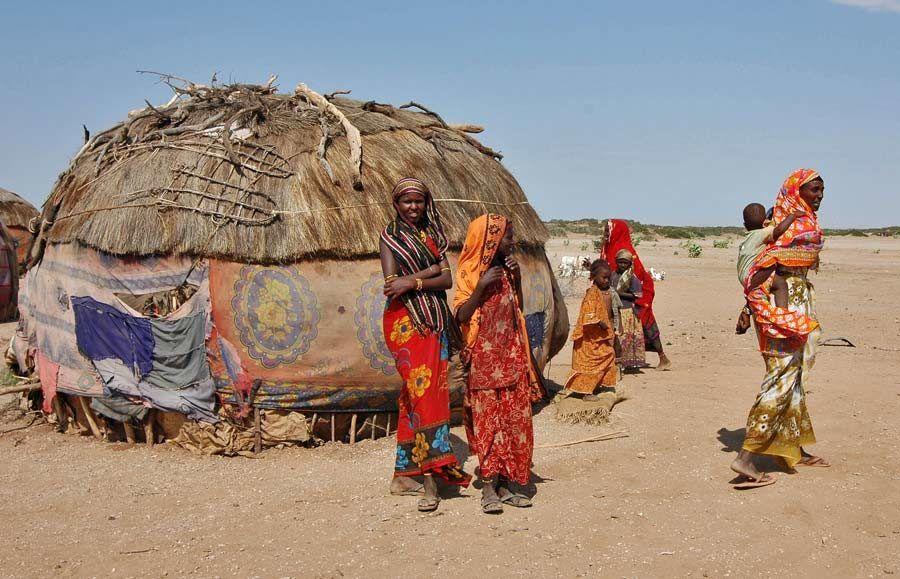 poblado gabbra, viaje a kenia