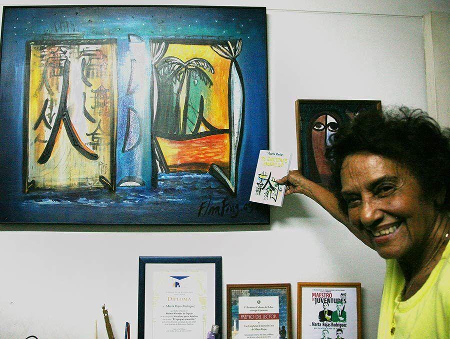marta rojas, escritora cubana, viajes a cuba, mujeres de cuba
