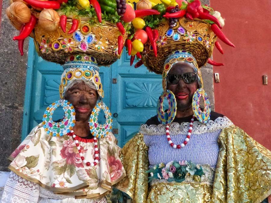 carnaval indianos, carnaval la palma