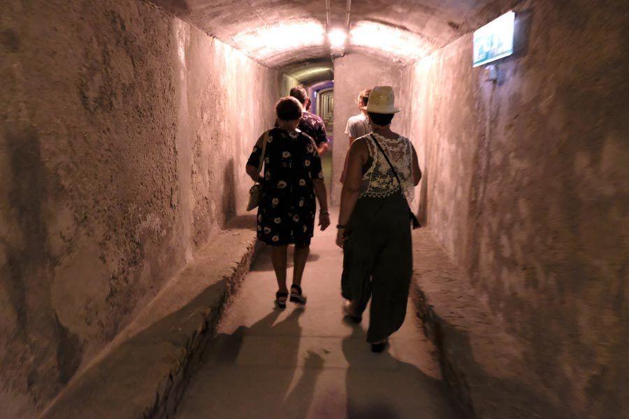 tuneles almeria, guerra civil almeria