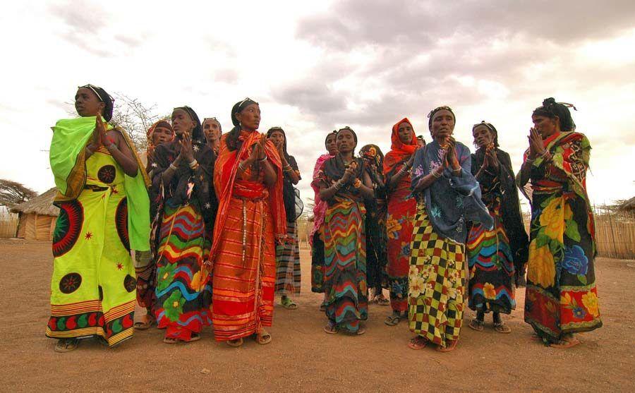 mujeres gabbra, viaje kenia