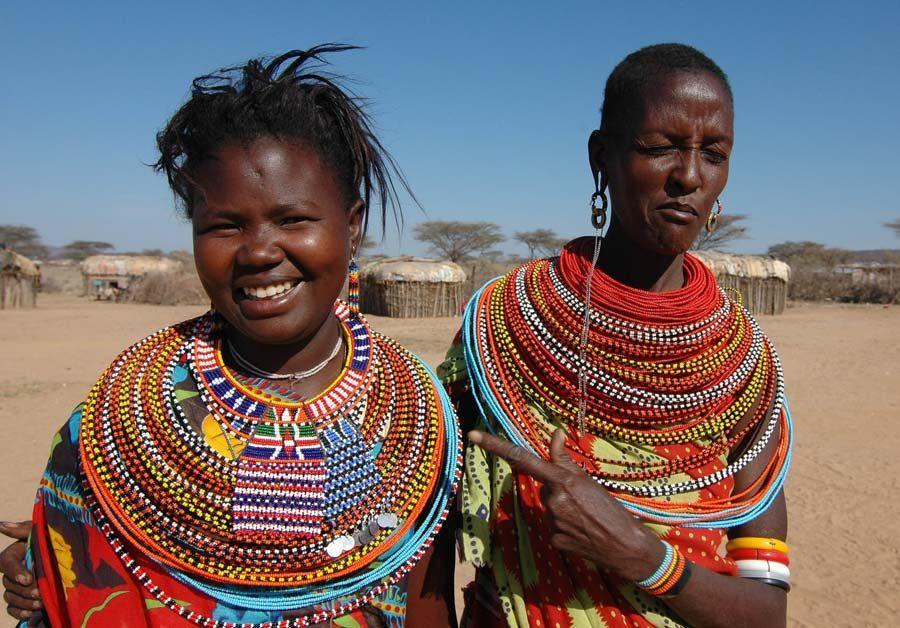 mujeres samburu, viaje kenia