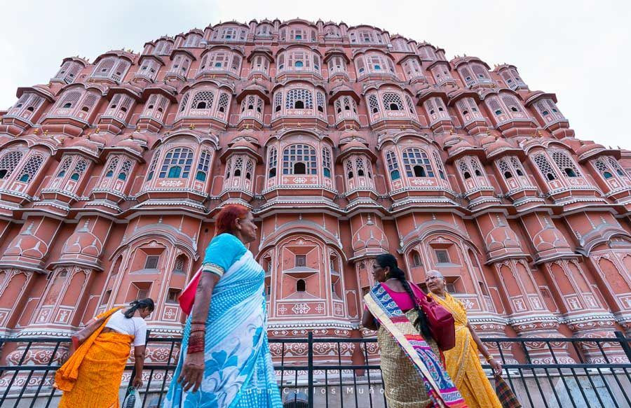 jaipur, palacio de los vientos