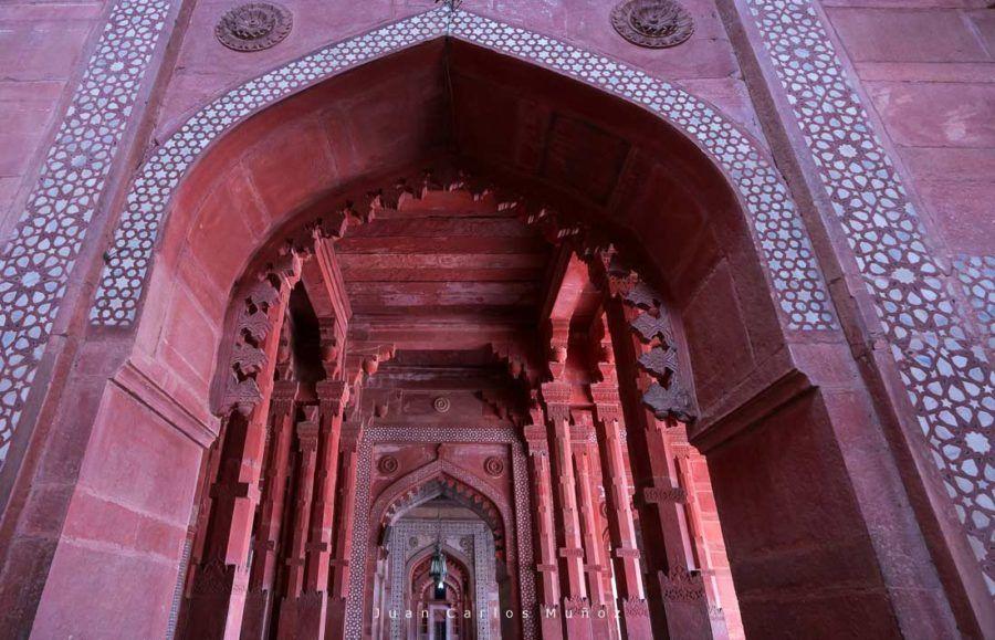 Panch Mahal, palacete Fatehpur Sikri