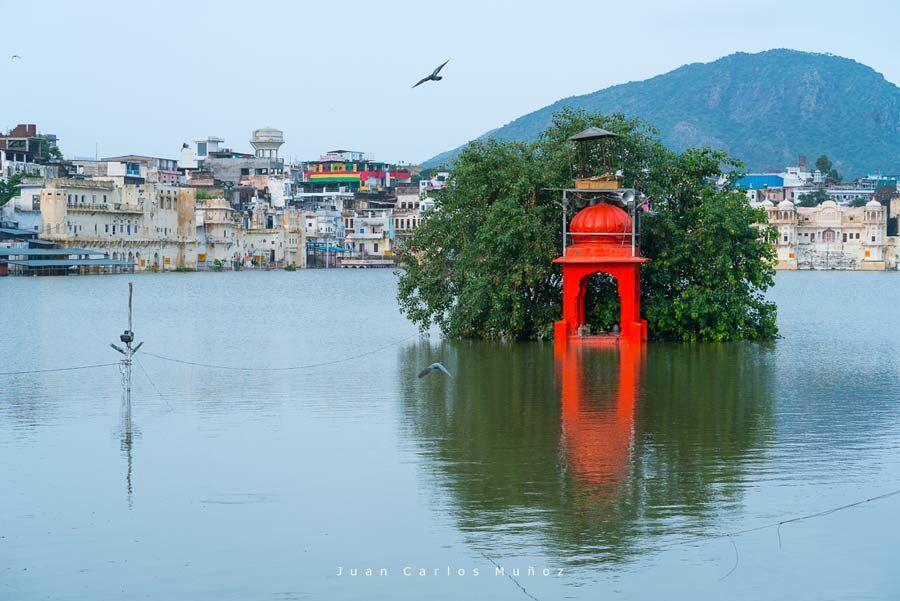 lago azul de brahma, puskhar