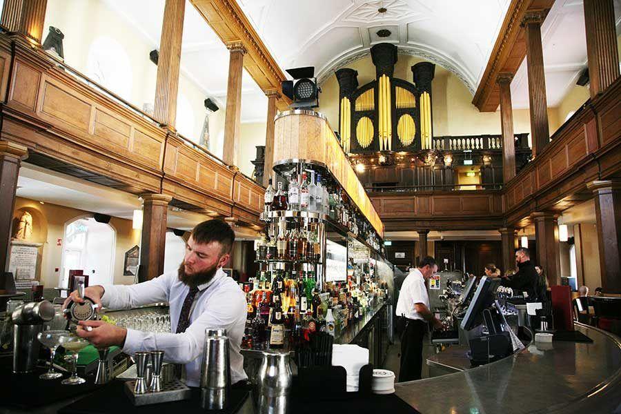 The Church restaurant, restaurantes dublin