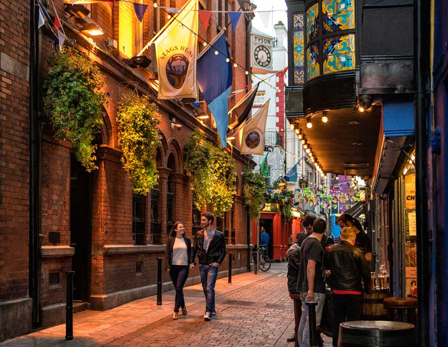 temple bar, pubs de dublin