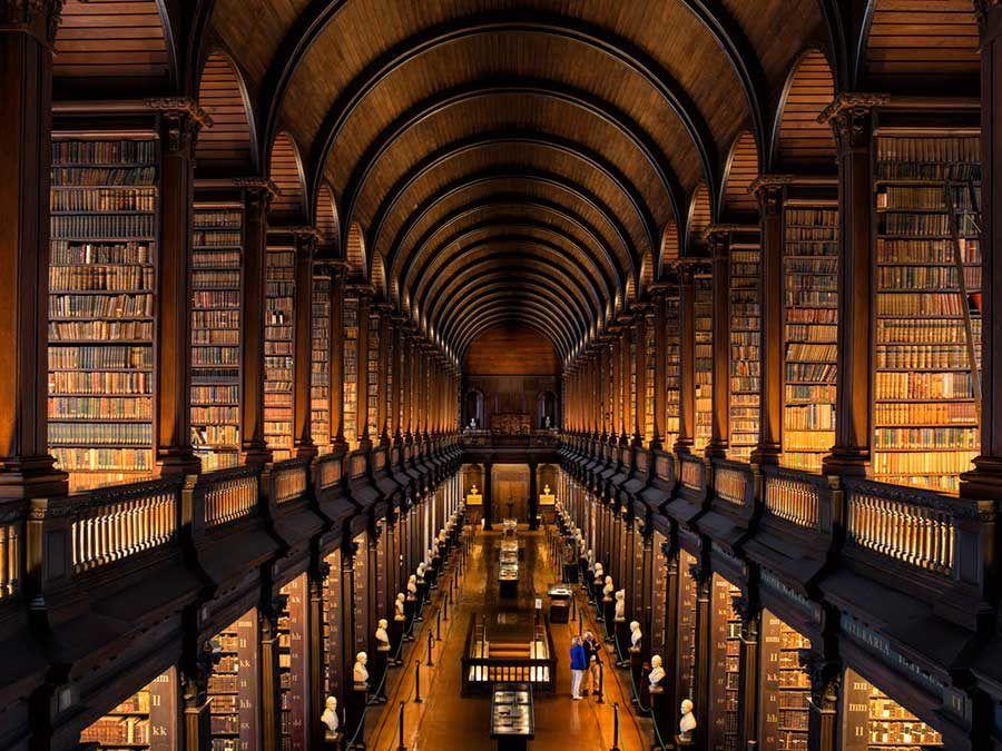 biblioteca trinity college, viaje dublin