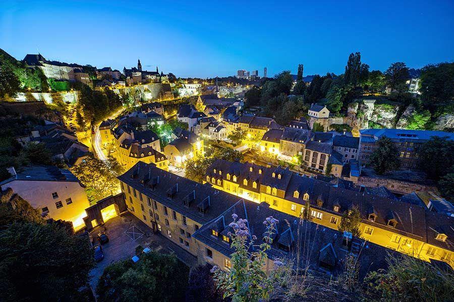 luxemburgo, barrio grund, viaje con mujeres