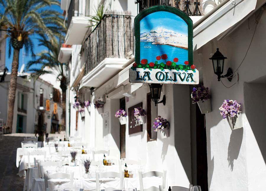 Restaurante La Oliva,ibiza romantica, ibiza en pareja, restaurantes romanticos ibiza