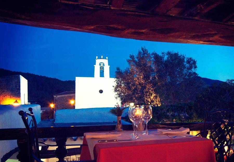Restaurante Can Berri Vell, ibiza romantica, ibiza en pareja, restaurantes romanticos ibiza