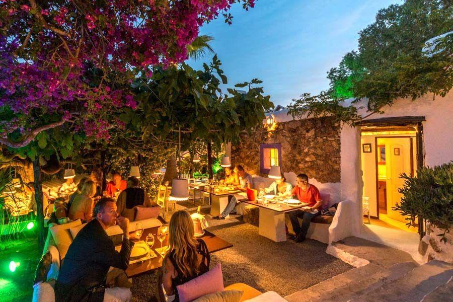 restaurante la luna nell orto, restaurante romantico ibiza, ibiza romantica, ibiza en pareja