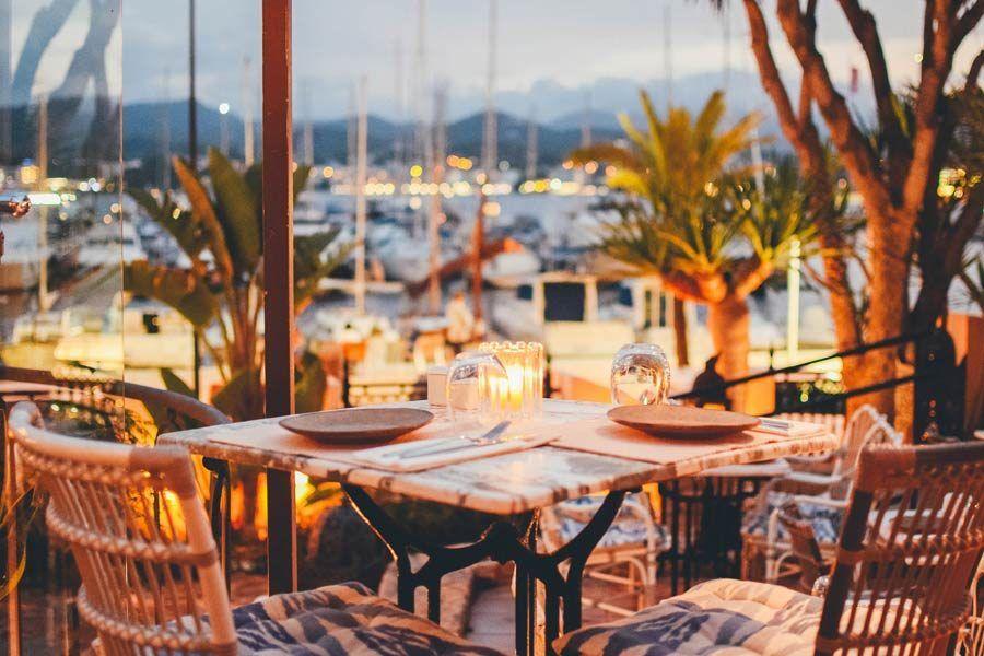 restaurante villa mercedes, restaurantes romanticos ibiza, ibiza romantica, ibiza en pareja