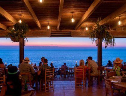 terraza hostal la torre, restaurante con vistas ibiza