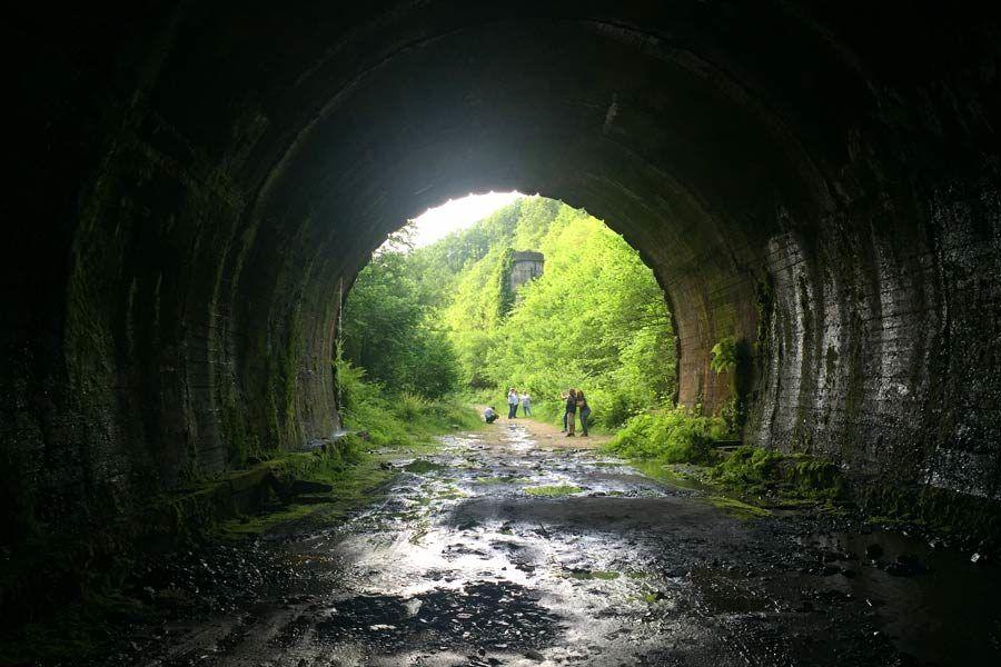 ruta tunel engana, rutas cantabria