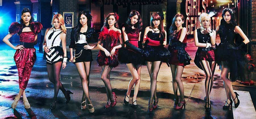 k pop, grupo por girls generation