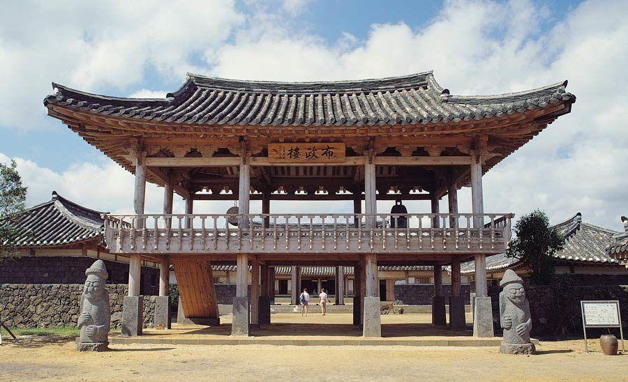 Templo Tolharubang, isla de Jeju, viaje corea
