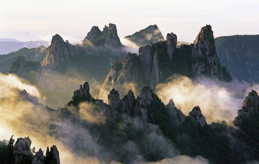 Montaña Seoraksan, viaje corea del sur