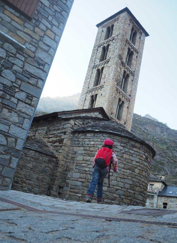Erill la Vall  ruta romanico en vall de boi