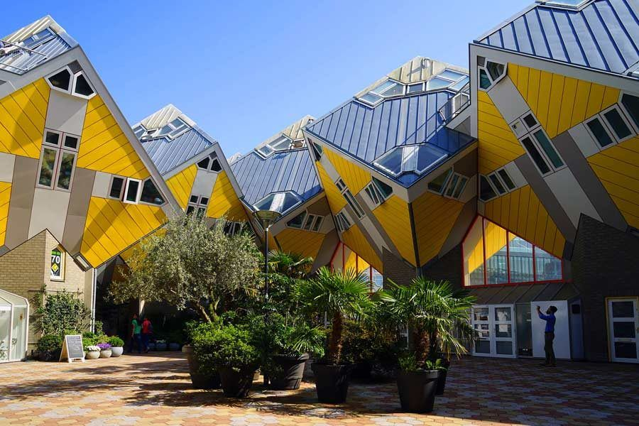 Cubehouses, viaje roterdam