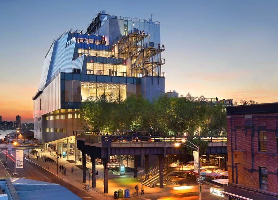 The Whitney desde Gansevoort Street, High Line