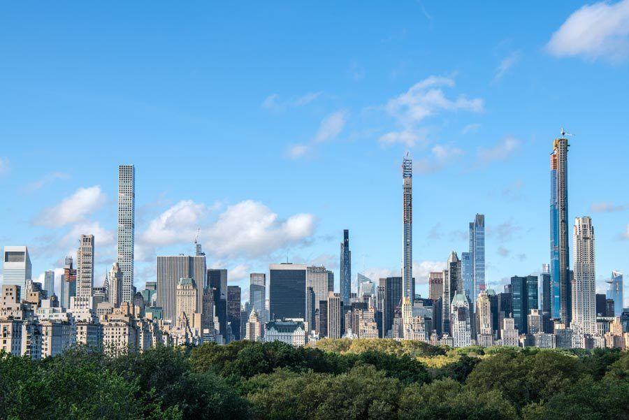 vistas desde met, vistas museos nueva york