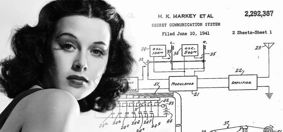 Hedy Lamarr, inventora de la tecnologia WiFi