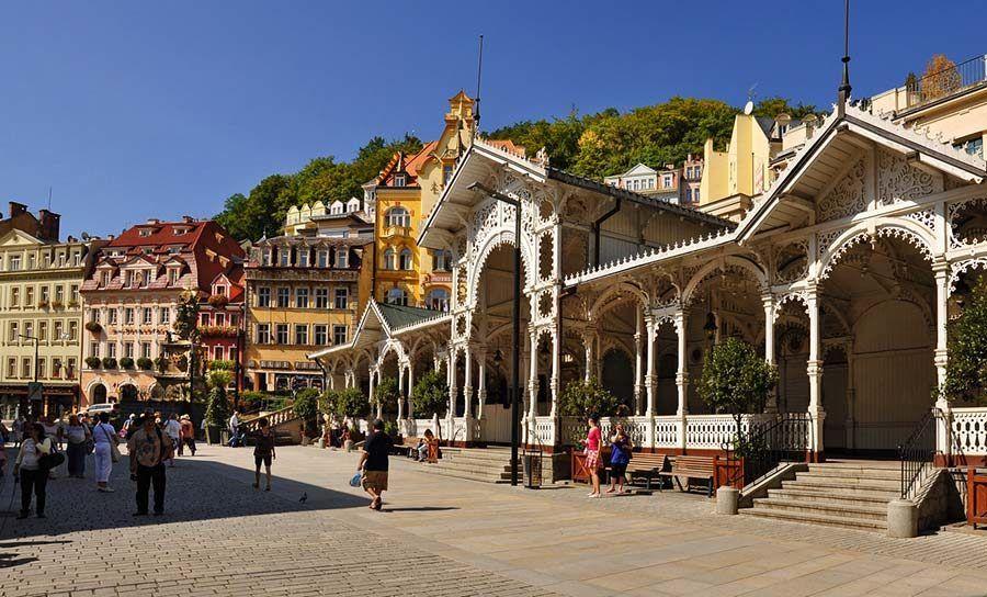 Karlovy Vary, peliculas rodadas en chequia