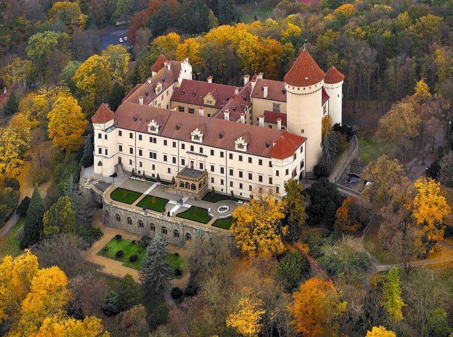 castillo konopiste, viaje chequia, peliculas rodadas en chequia