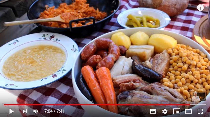 cocido madrid, plato tipico madrid, platos tradicionales espanoles, 7 platos tipicos espana